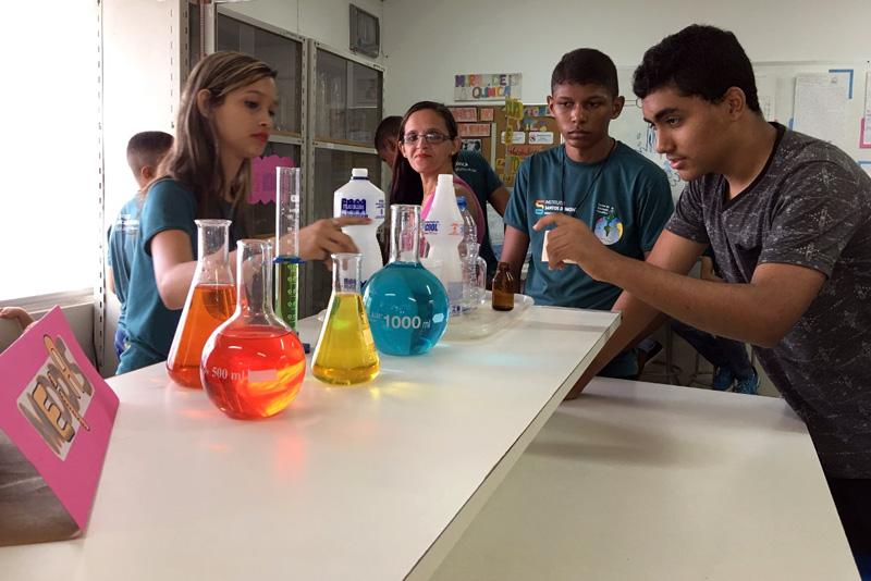 Mostra da Oficina de Ciência e Química, CEC Natal