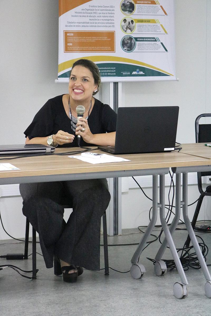 Coordenadora da Jornada Bexiga Neurogênica, Lilian Lisboa