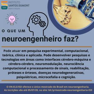 Mestrado em neuroengenharia - O que um neuroengenheiro faz
