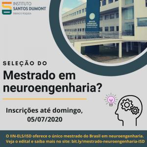 Seleção mestrado em neuroengenharia