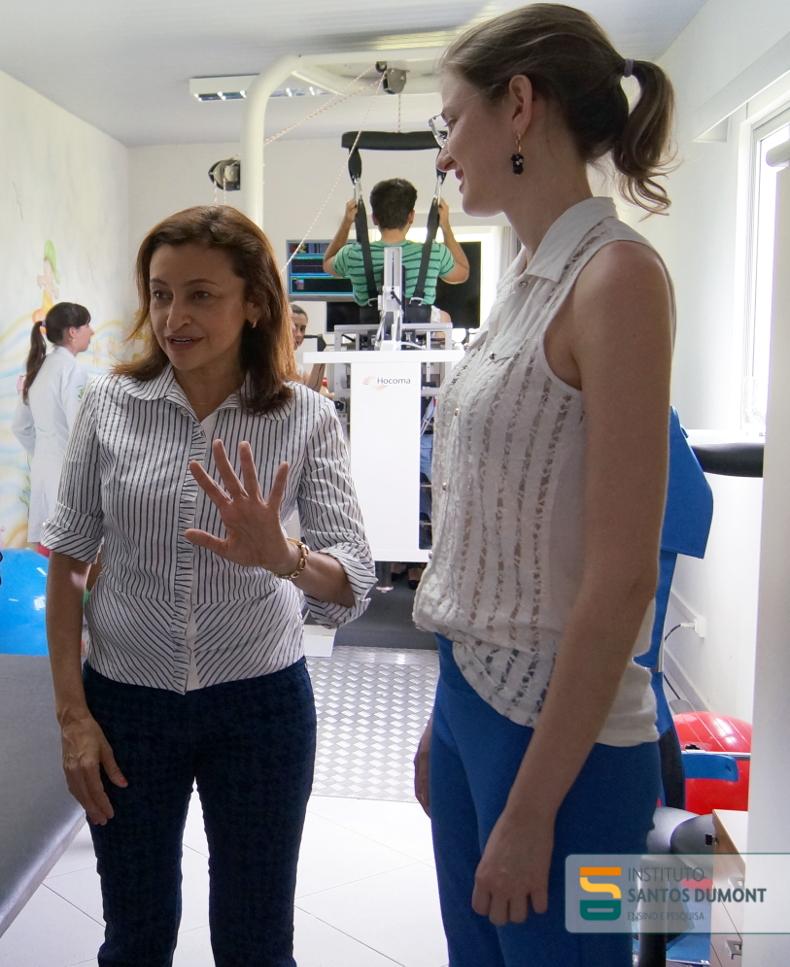 Nilba Lima conhece instalações do CEPS em Macaíba (RN)