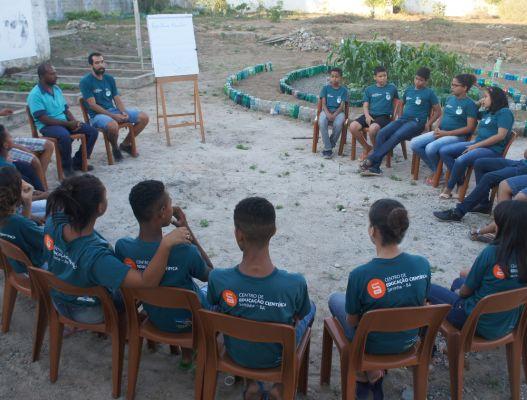 CEC Serrinha (BA) promove atividade que une agricultura e robótica