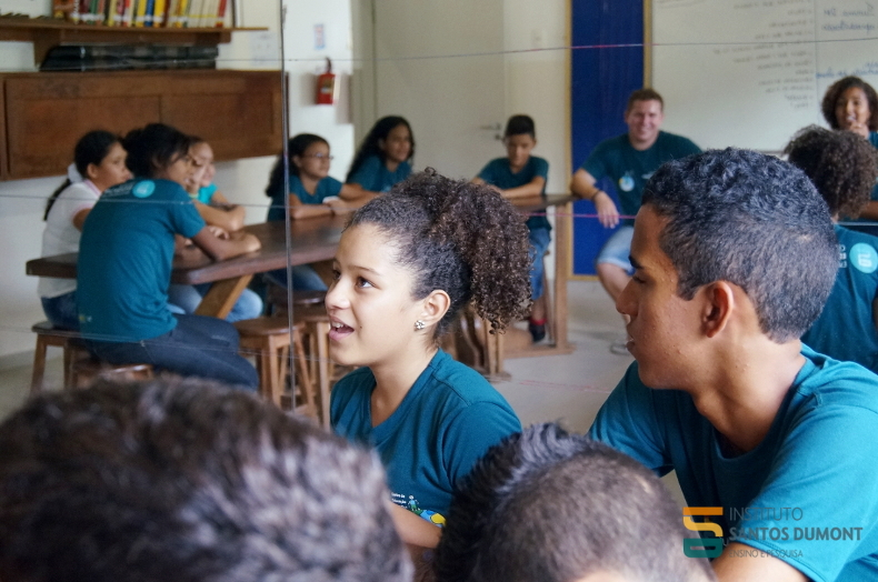 Oficina Ciência e História, CEC Macaíba. Foto: Ariane Mondo/Ascom ISD