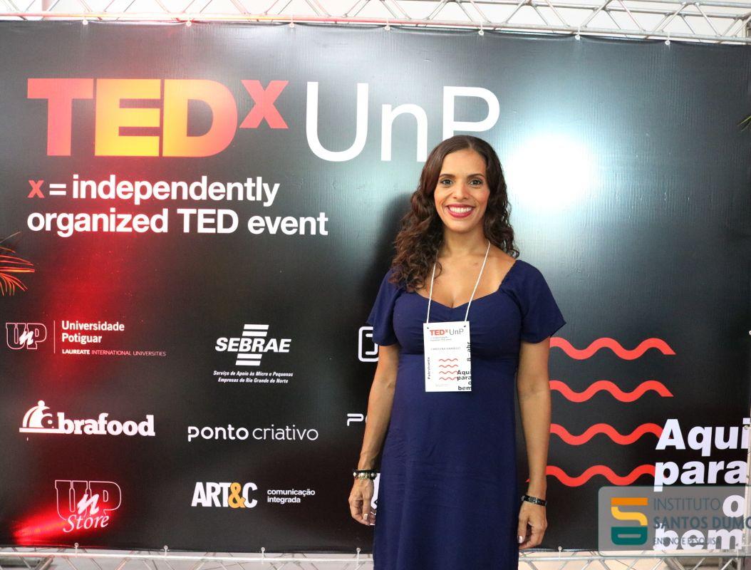 Médica do CEPS faz palestra no primeiro TEDx do RN