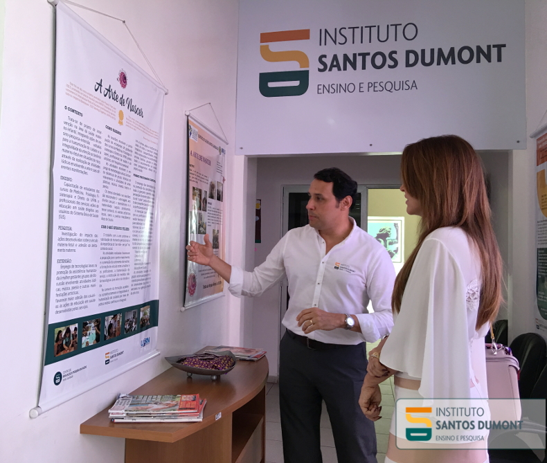 Reginaldo Freitas Júnior fala sobre um dos projetos do CEPS, Arte de Nascer, premiado internacionalmente em 2015. Em sua chegada ao IIN-ELS, Julianne ouviu de Edgard sobre