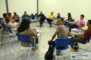 Reunião de planejamento em Caxias (MA)