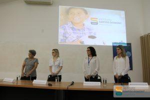 Da esquerda para a direita: Selma Maria Bezerra Jerônimo, Anna Giselle Câmara, Fívia Lopes e Elisama Vieira.