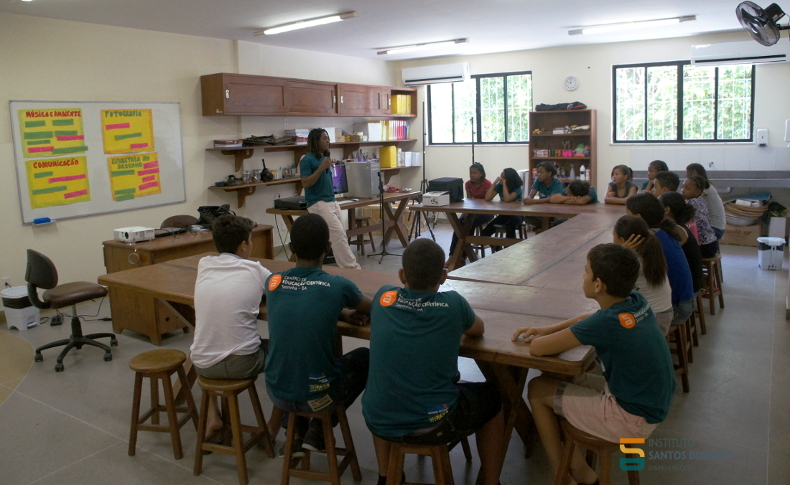 Oficina Ciência e Arte, CEC Serrinha. Foto: Equipe CEC Serrinha