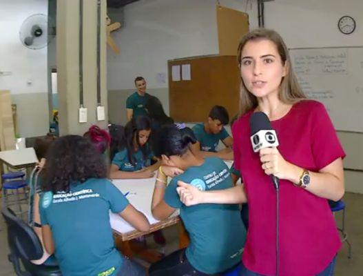 Educação Científica do ISD é tema de reportagem da InterTV Cabugi (RN)
