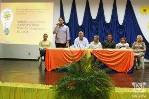 """Reginaldo Freitas Júnior, Diretor de Ensino e Pesquisa do ISD, participa do lançamento da Campanha """"Compartilhe essa ideia"""", em Macaíba (RN)"""