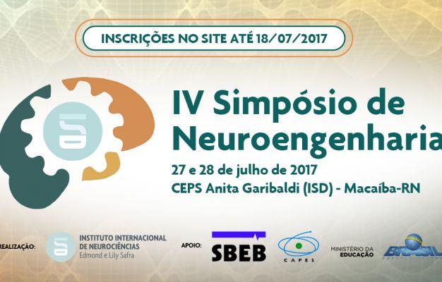 IIN-ELS promove o IV Simpósio de Neuroengenharia